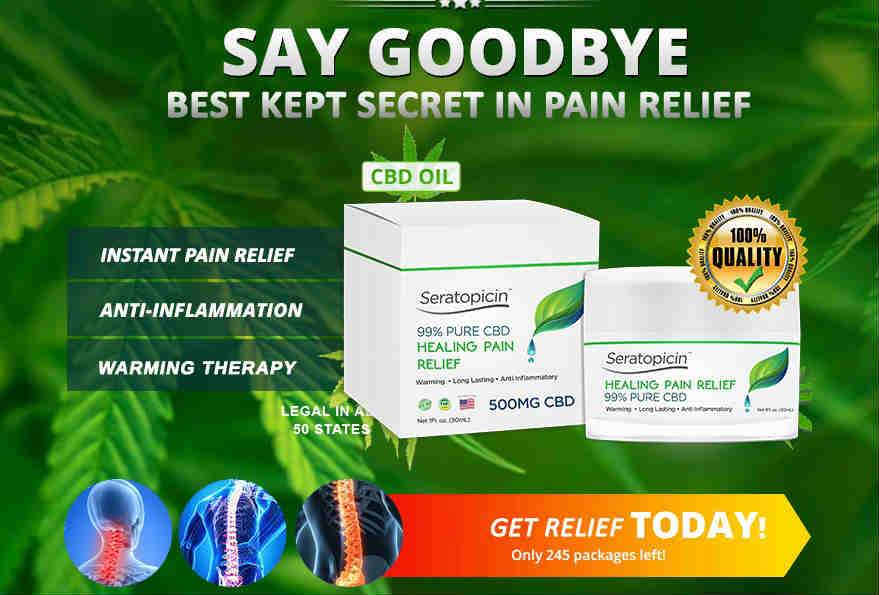 Seralabs Seratopicin Pain Relief Cream