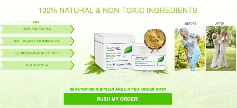 Seratopocin Pain Relief Cream