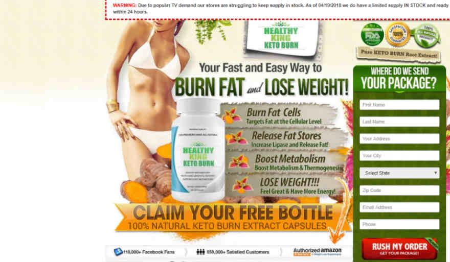 Healthy King Keto Burn Review : Weight Loss