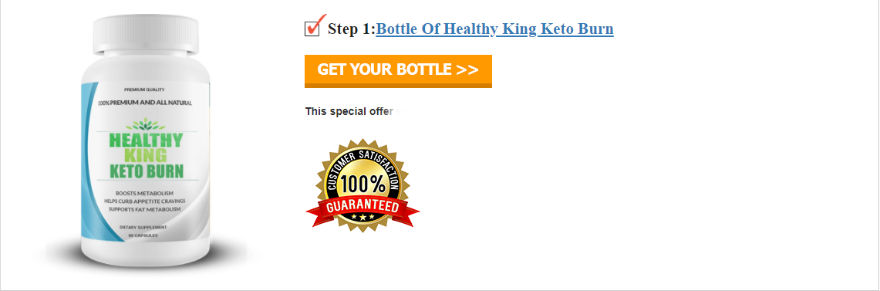 Healthy King Keto Burn Review For Weight Loss