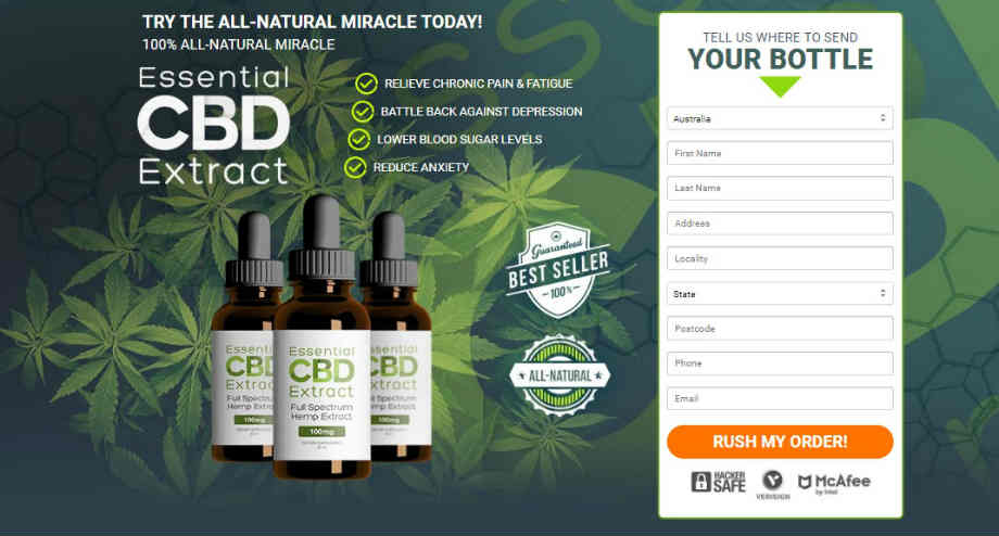 Essential CBD Extract Reviews : Benefits, Price and Side Effects