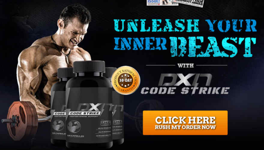 DXN Code Strike Reviews : Powerful & Effective Testosterone Booster
