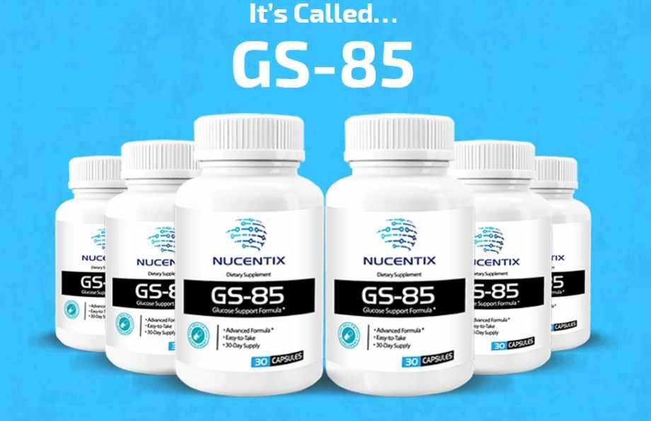 Nucentix GS 85 Review : Does GS-85 Blood Sugar Supplement Really Work?
