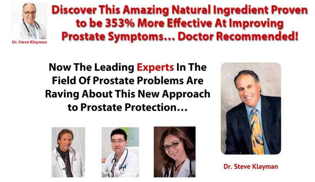 Prostate 911 Reviews : Best Prostate Supplements By Phytage Labs
