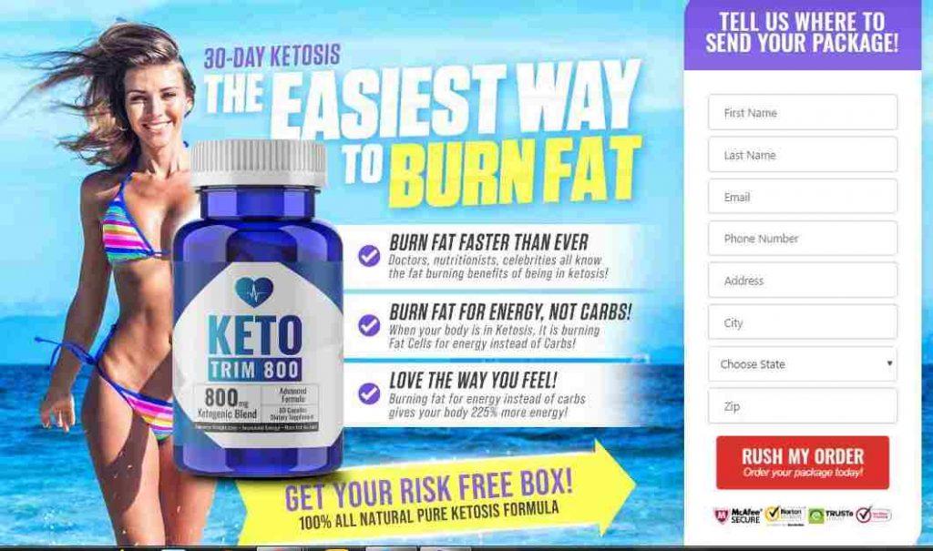 Keto Trim 800 Review : Advanced Weight Loss Formula