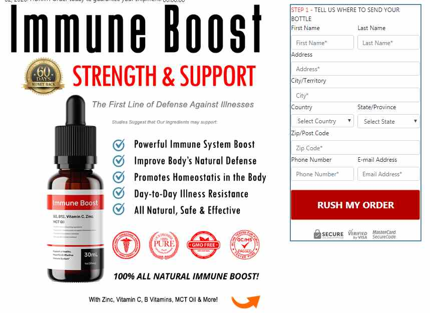 IMMUNE BOOST : Total Defense Immunity Blend – Is It Scam Or Legit