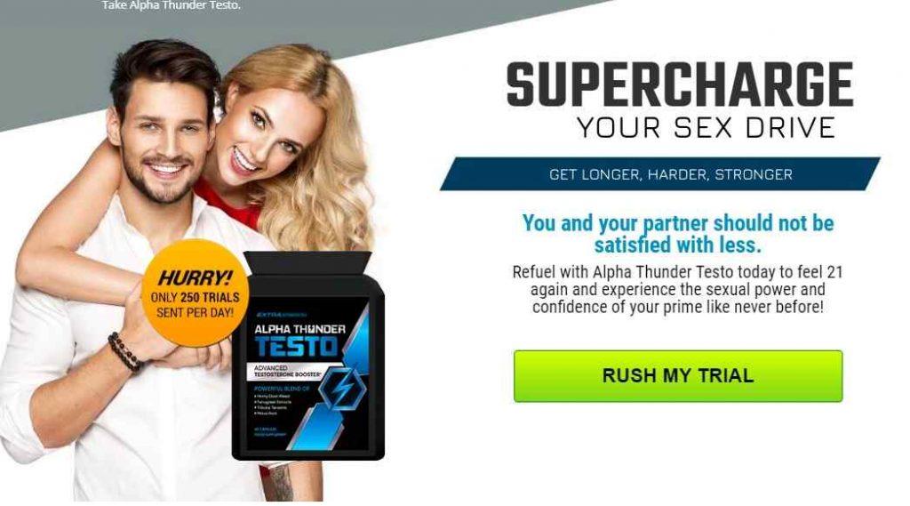Alpha Thunder Male Enhancement Pills (UK), Price & Does It Really Work? Alpha Thunder Testo