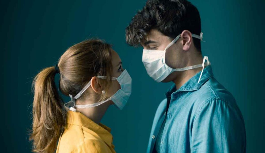 Sex And The Coronavirus : Couples Should Wear Face Masks While Having Sex, Says A New Study