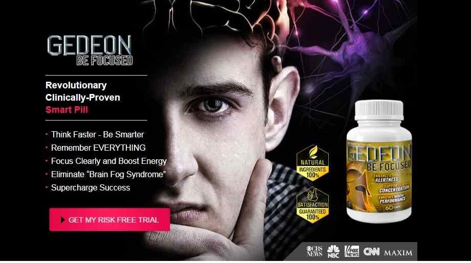 Focus Pills Reviews : Gedeon Be Focused Brain Pills Benefits, Price, Ingredient