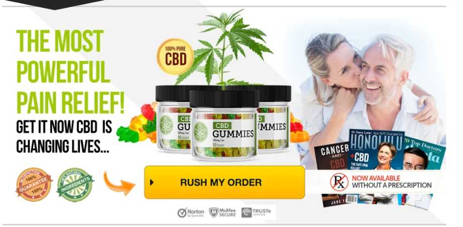 Pure Herbal CBD Gummies Review : For Pain, Depression & Anxiety