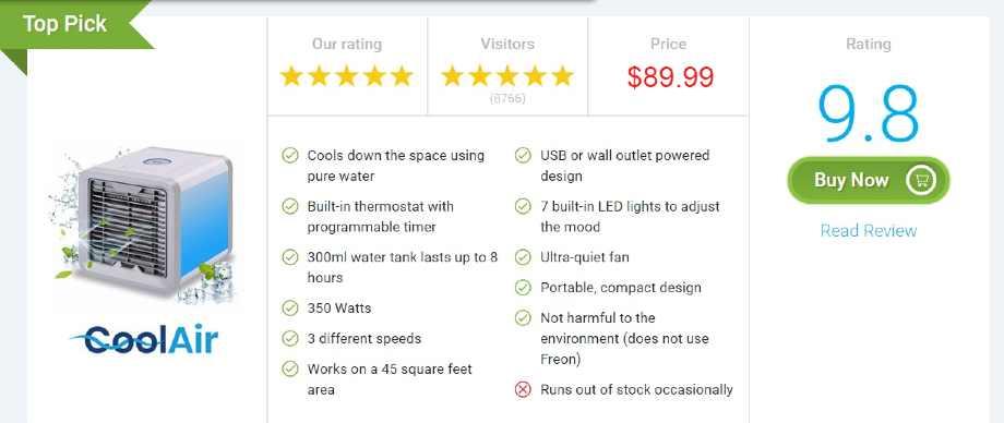 Portable Air Conditioner Review : Blaux Portable Air Conditioner - 50% Off - buy air conditioner portable