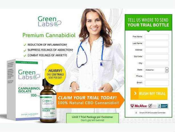 Green Labs CBD Oil Review