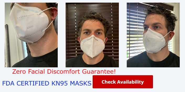 KN95 Face Mask Review : FDA Certified KN95 Masks For Sale