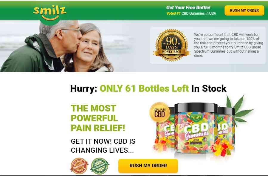 Smilz CBD Gummies where to buy