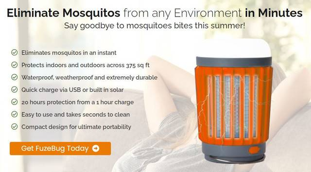 FuzeBug Reviews : Best Mosquito Repellent Lamp That Really Work
